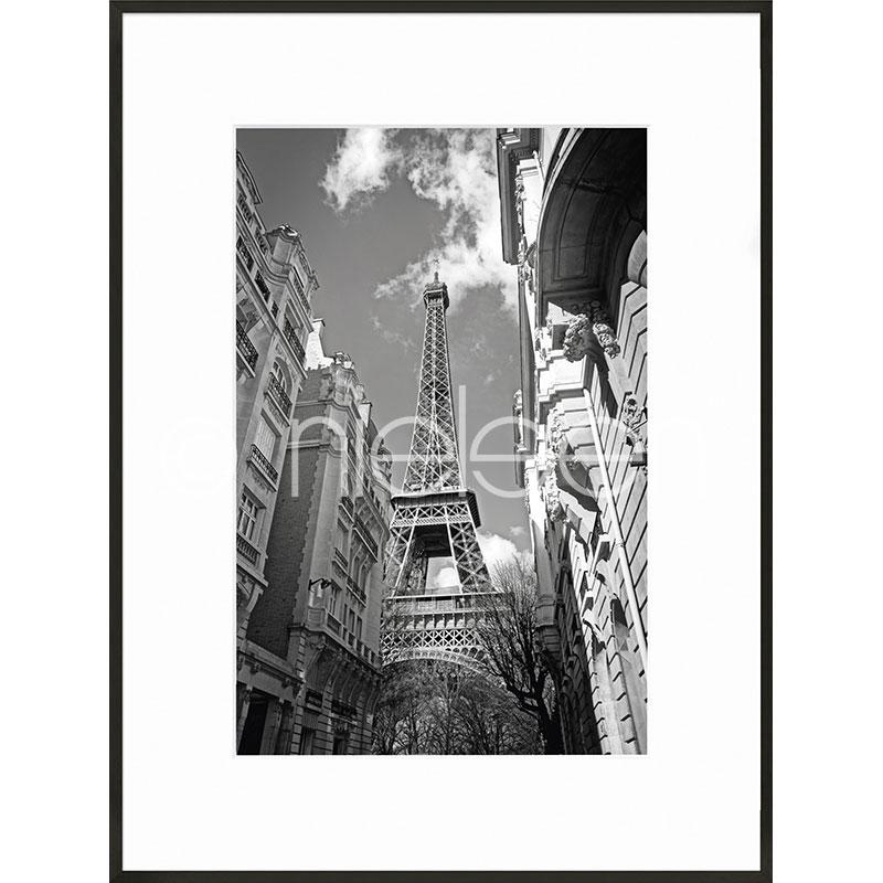 """Immagine incorniciata """"Eiffel Tower"""" con cornice in alluminio C2"""