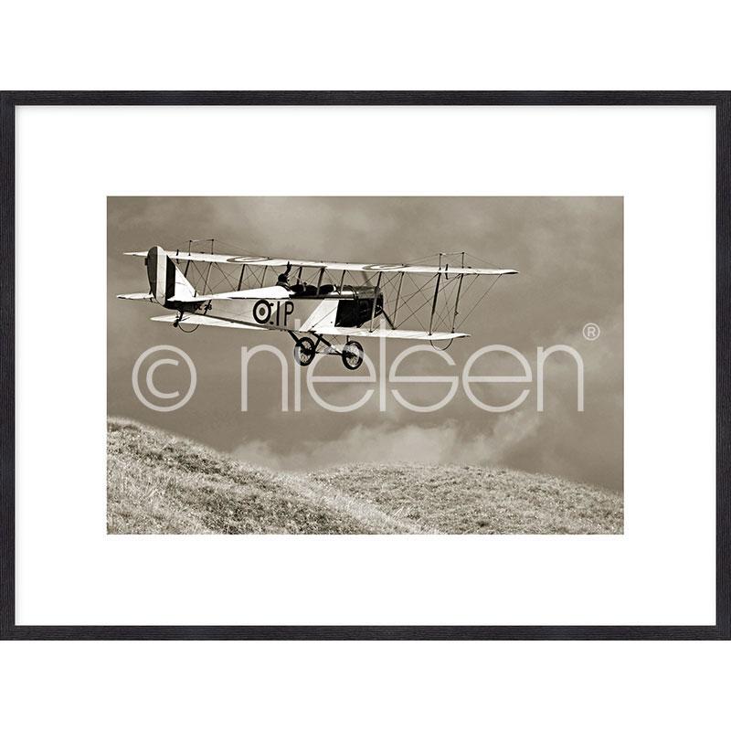 """Immagine incorniciata """"Historic Plane"""" con cornice in legno Quadrum"""