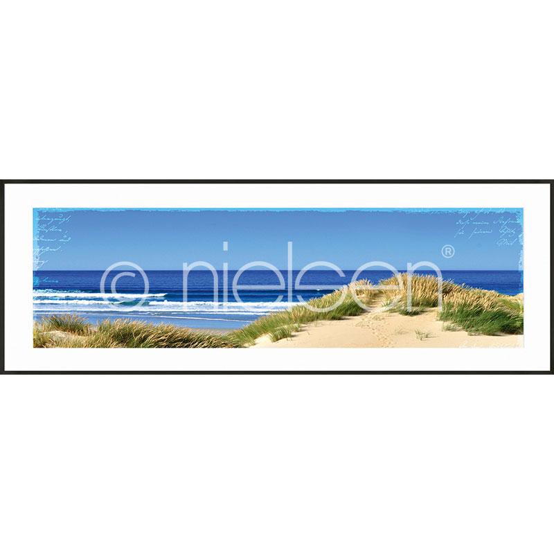 """Immagine incorniciata """"Dune Ocean"""" con cornice in alluminio C2"""