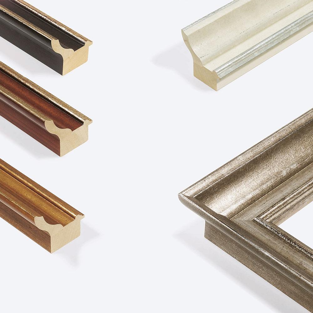 Cornice in legno su misura, Lab.Art Uno 98