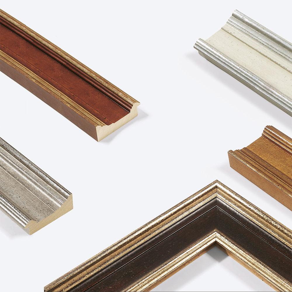 Cornice in legno Lab.Art Quattro 96