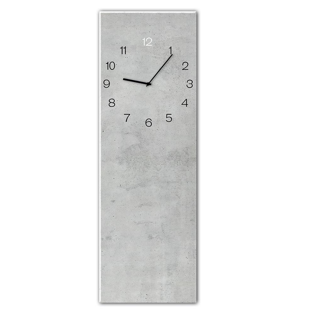 orologio in vetro CONCRETE