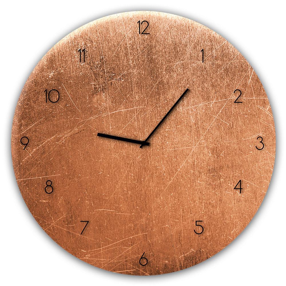 orologio in vetro COPPER