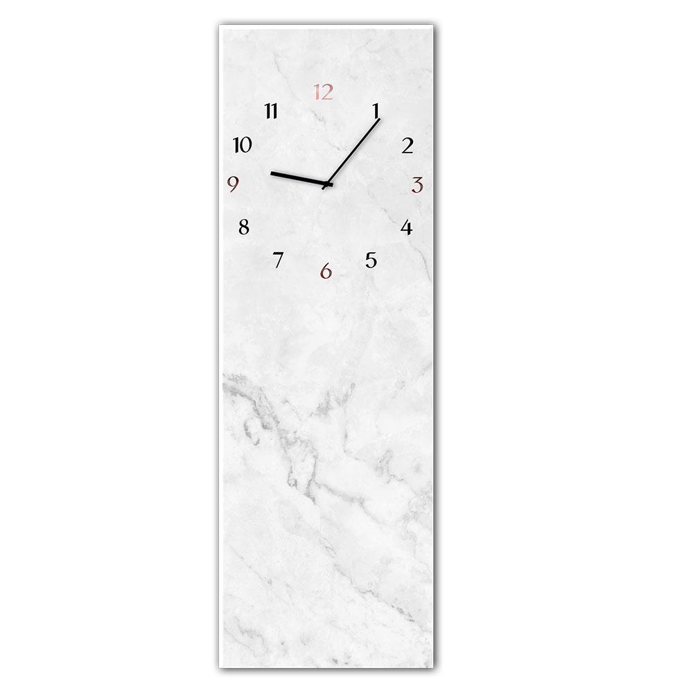 orologio in vetro MARBLE 20x60 cm