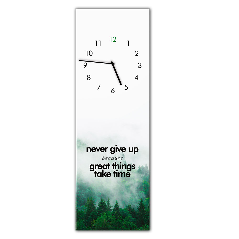 orologio in vetro GREATTHING