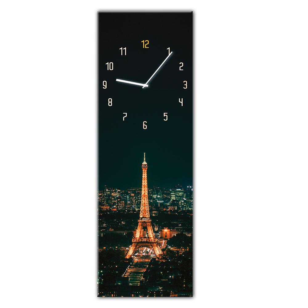 orologio in vetro PARIS