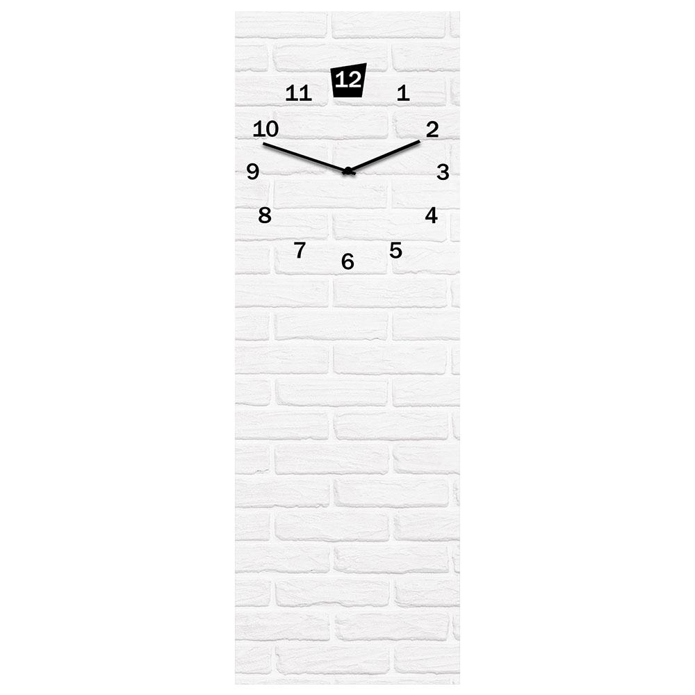 orologio in vetro WHITE