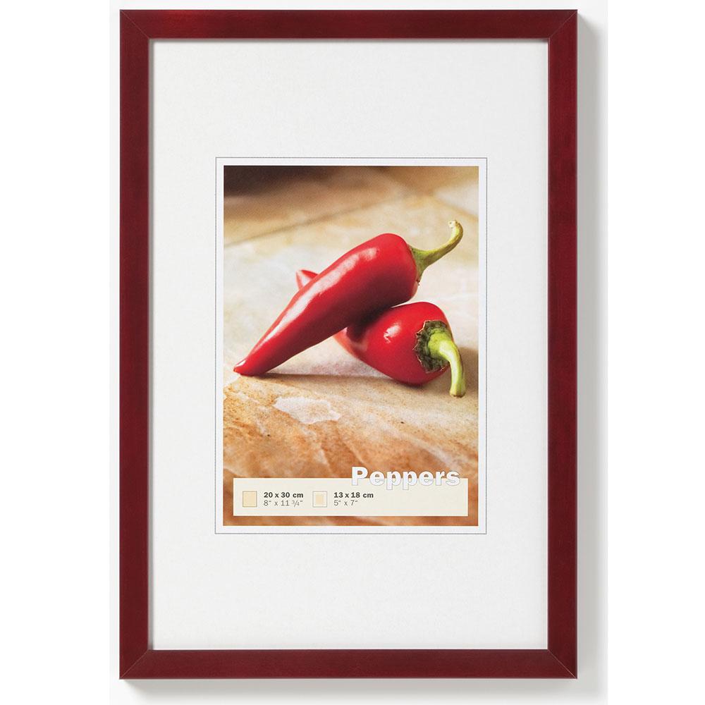 Cornice in legno Pepper 13x18 cm | acagiù | vetro standarde