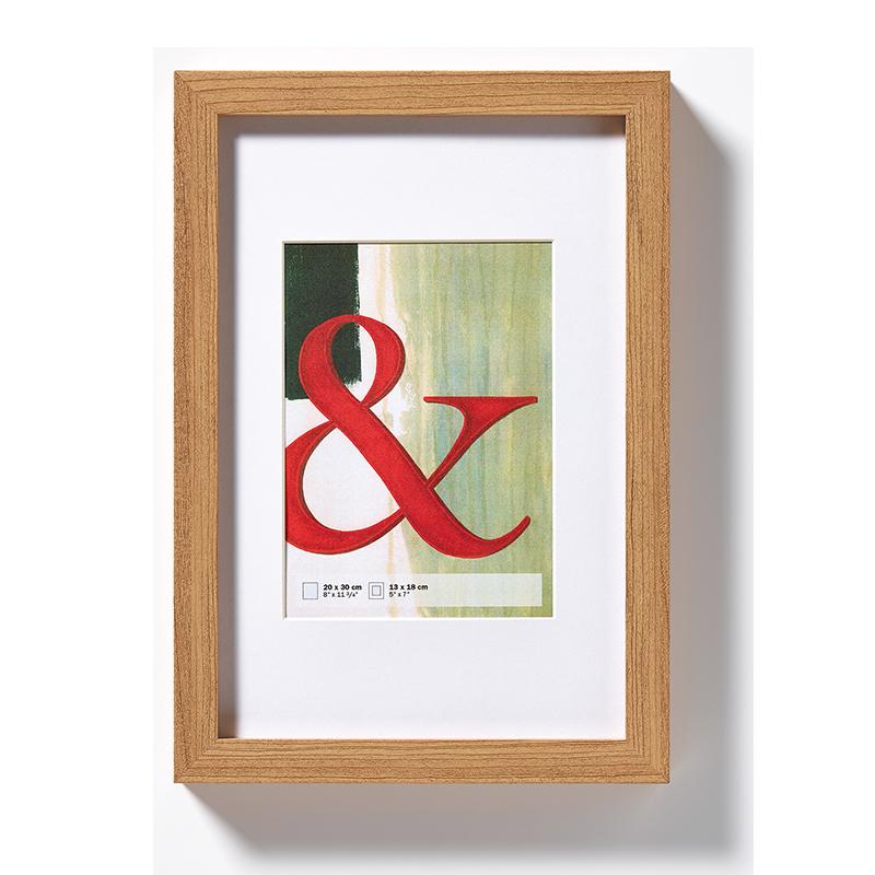 Cornice in legno Stockholm 13x18 cm | faggio | vetro standarde