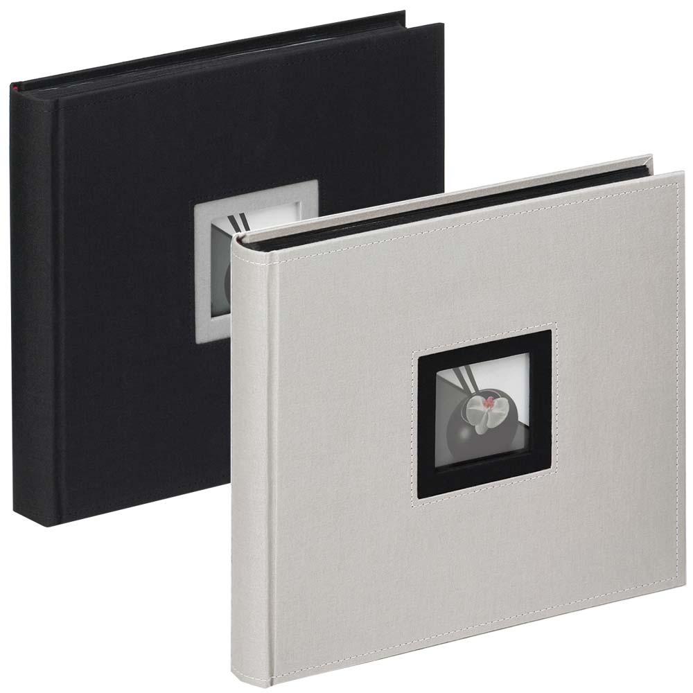 """Album libro """"Black & White"""" per incollare, 26x25 cm"""