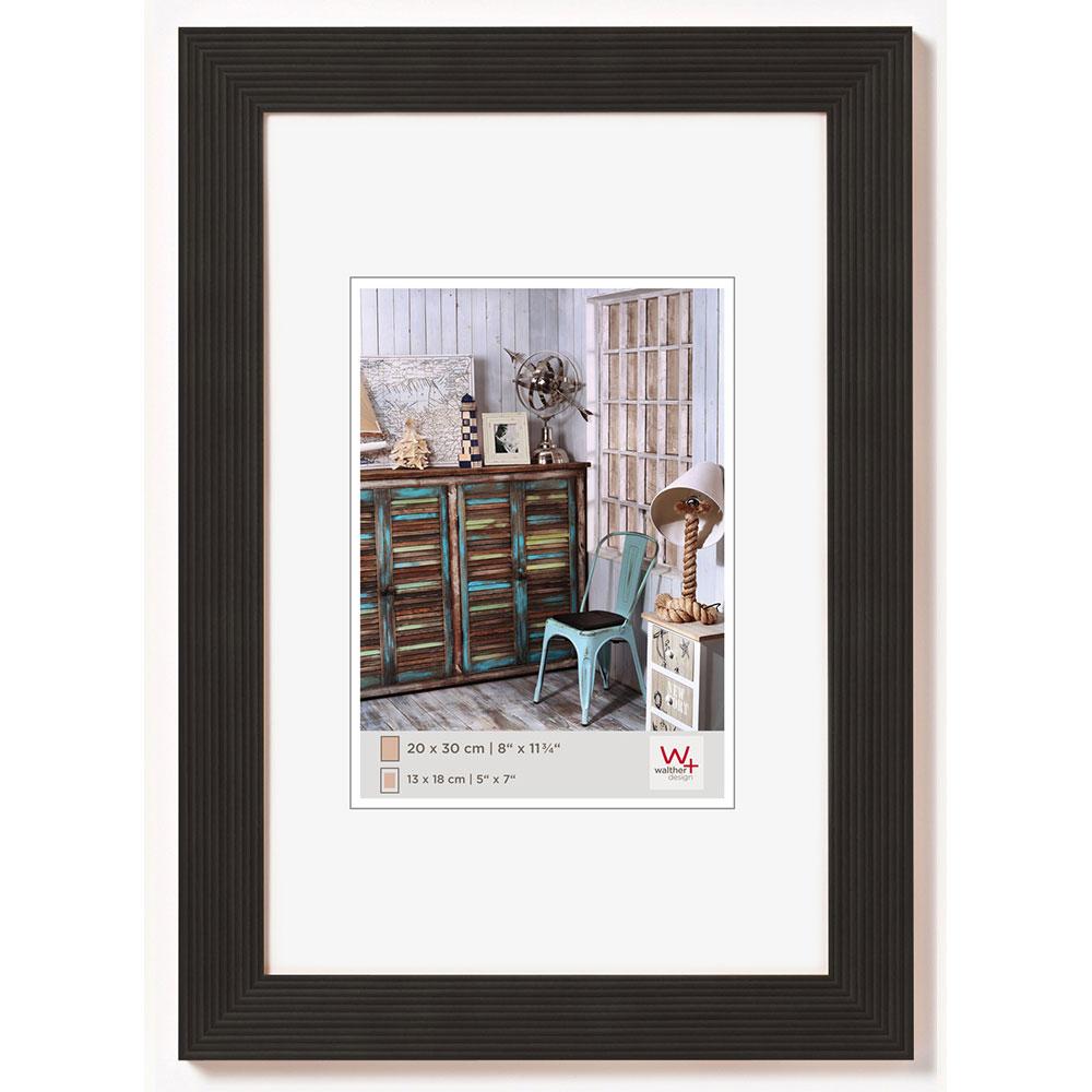 Cornice in legno Grado 10x15 cm | nero | vetro standarde