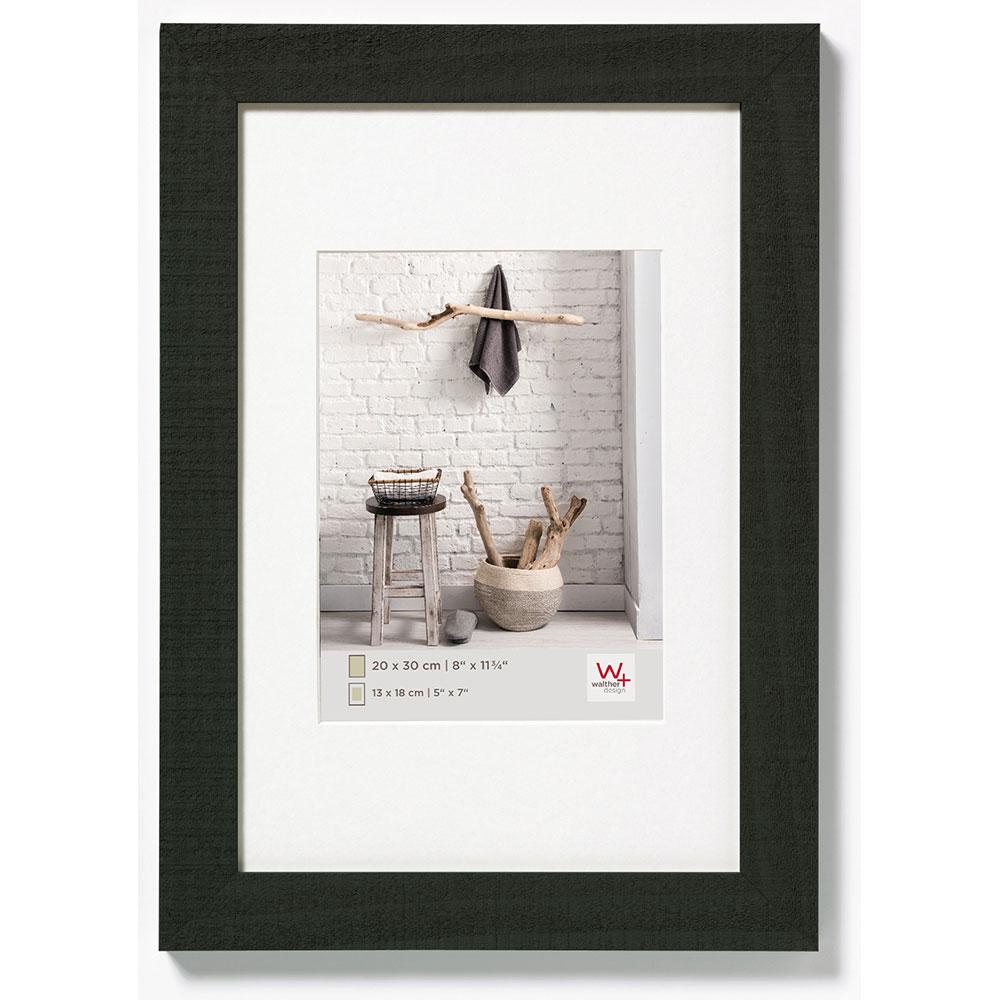 Cornice in legno Home 60x90 cm | nero | vetro standarde