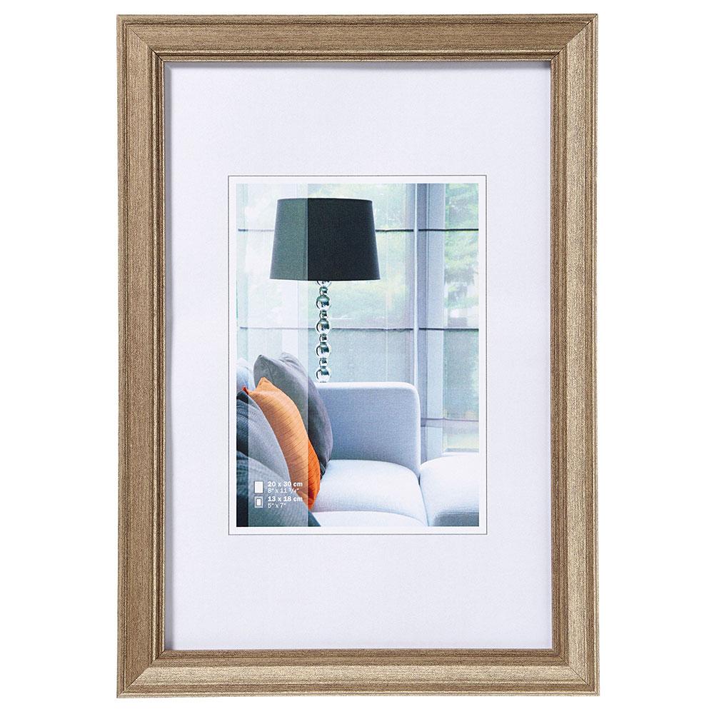Cornice di plastica Lounge 21x29,7 cm (A4) | acciaio | vetro normale