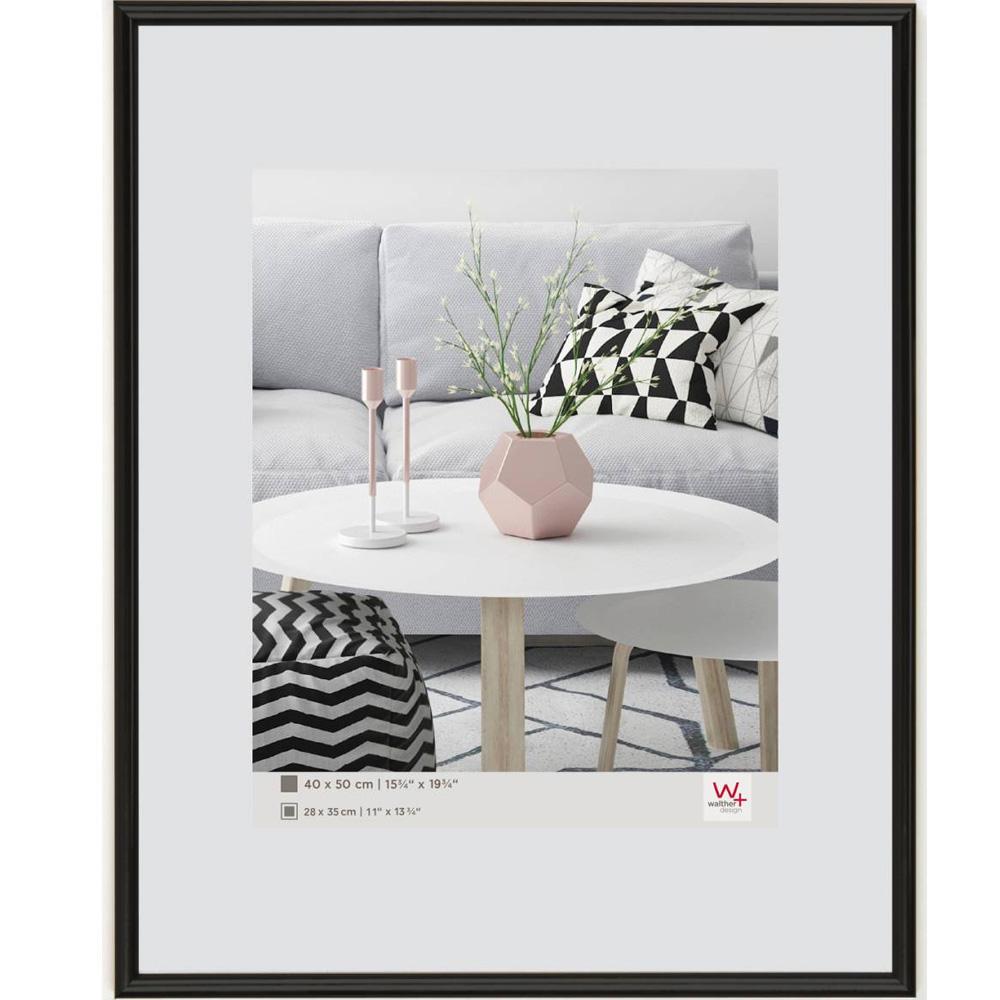 Cornice di plastica Galeria 9x13 cm | nero | vetro standarde
