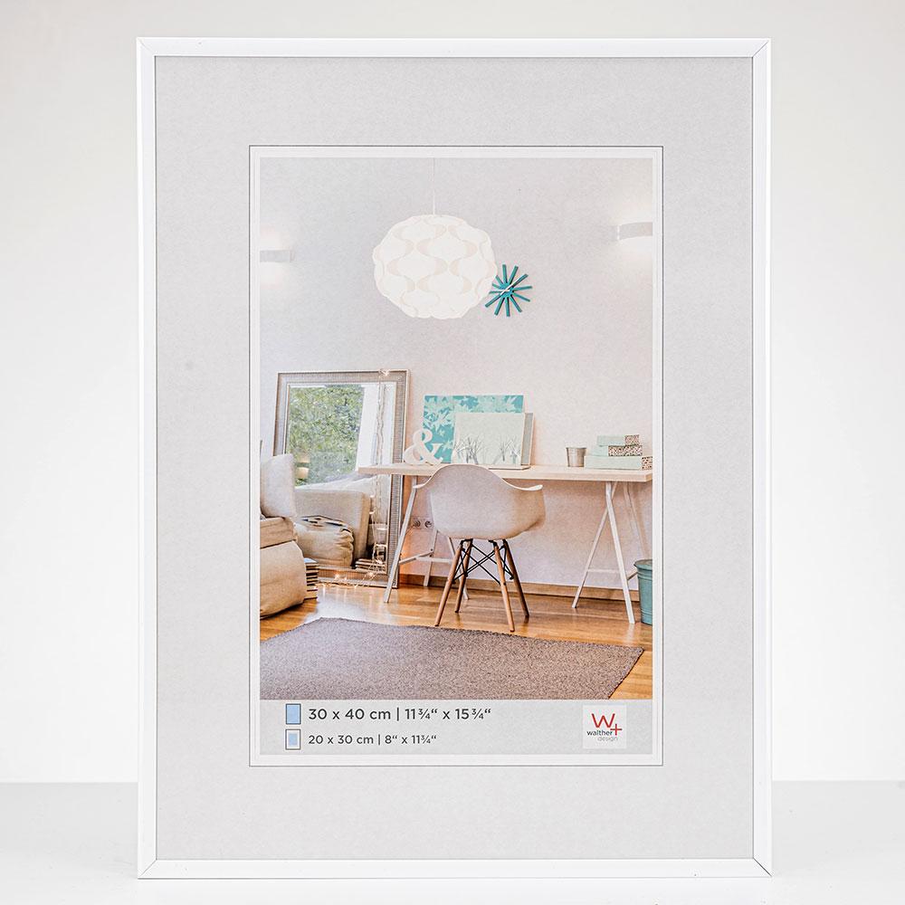 Cornice in materiale sintetico New Lifestyle 10x15 cm | bianco | vetro standarde