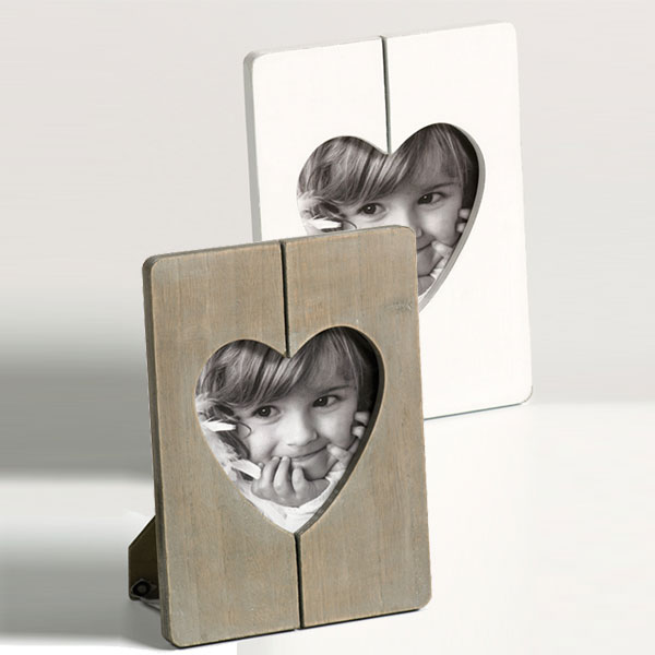 Portafoto Cuore con finestra a forma di cuore
