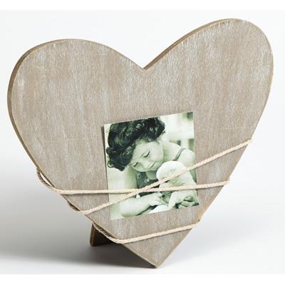 Cornice per ritratti Bella 2, forma di cuore grigio variabel | grigio | vetro standarde