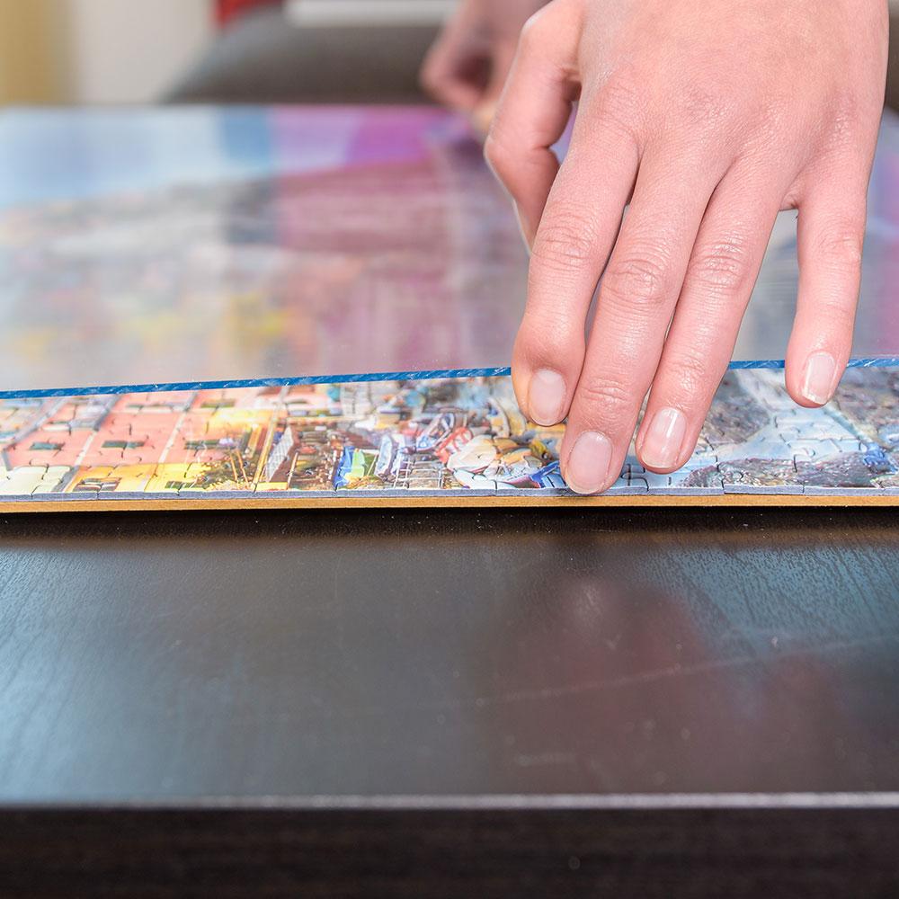 mira cornice per puzzles in plastica per 1500 pezzi 60x80