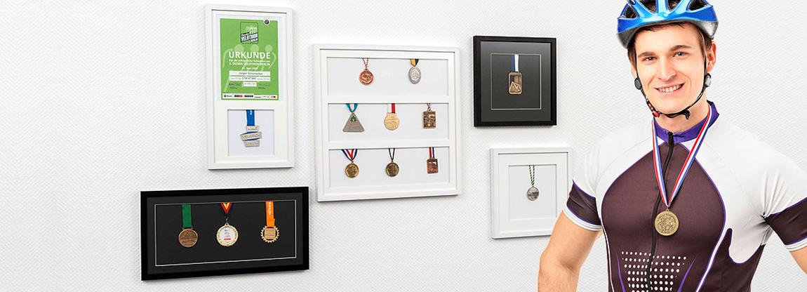 Cornici per medaglie